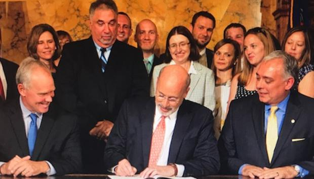 Governor Wolf Signs HB 202 Into Law